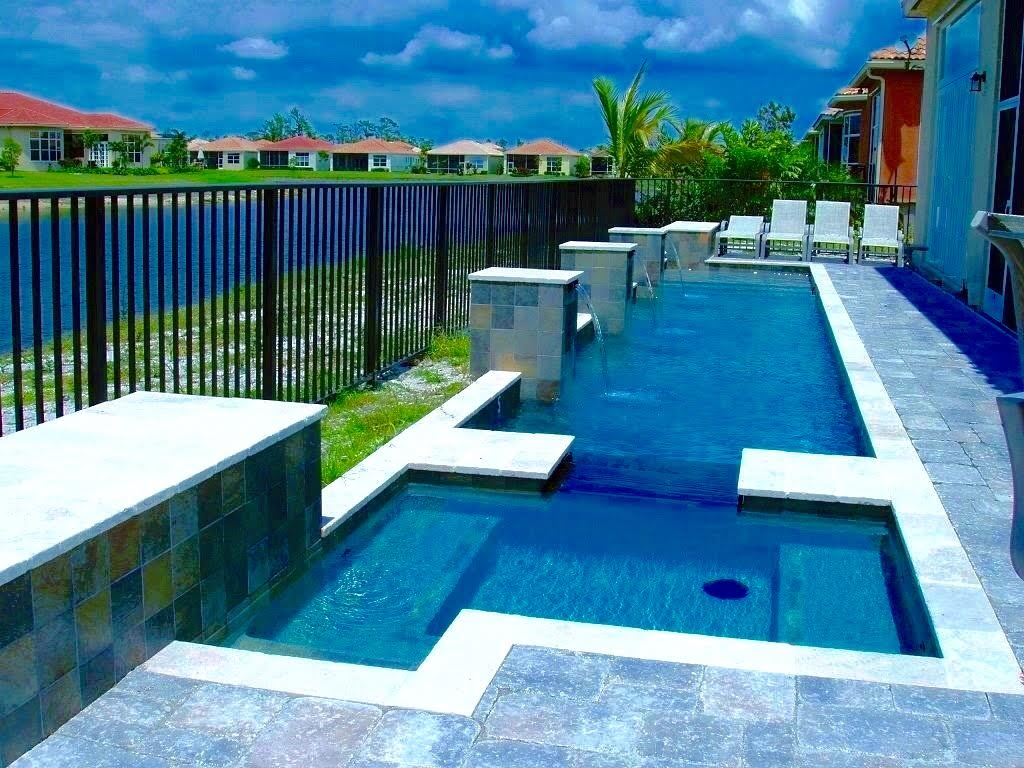 South West Beach House Design Project: Home Pool & Spa Projects West Palm Beach
